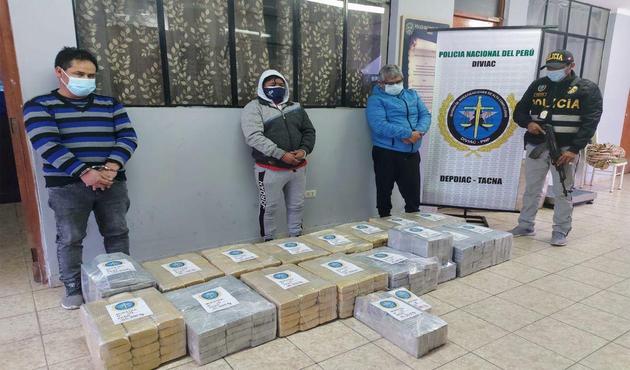 Reanudan audiencia contra policía y otros implicados en tráfico de drogas