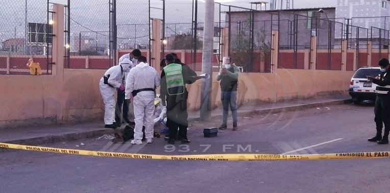No pueden identificar cadáver abandonado detrás de comisaría