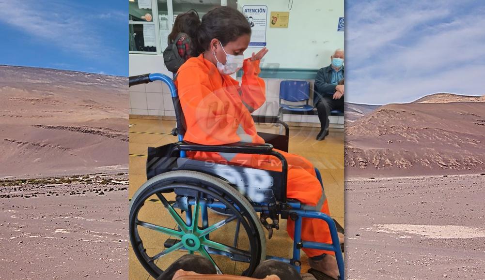 Extranjera perdida en desierto de Tacna es hallada en territorio chileno
