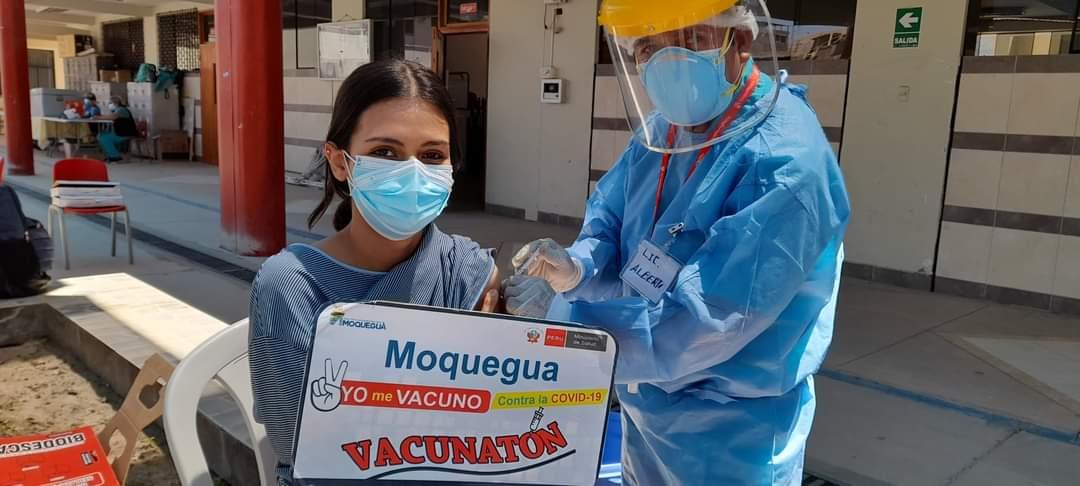 Más de 18 mil participaron de vacunatón en Moquegua