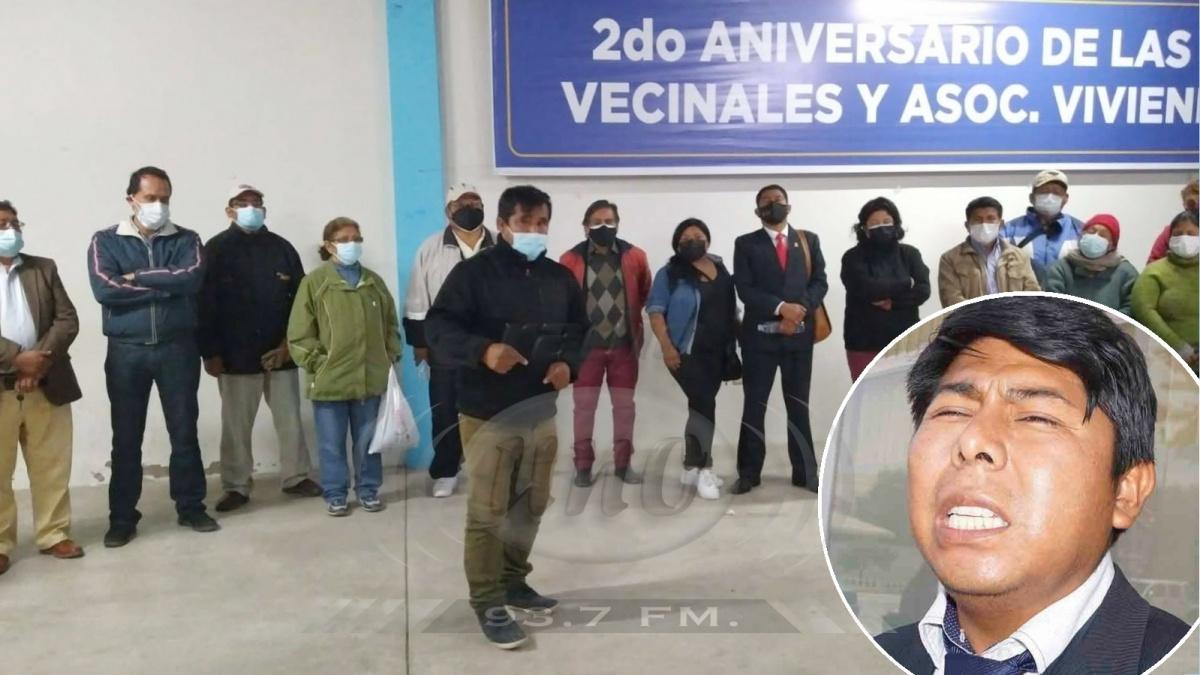 Vecinos de Gregorio Albarracín marcharán contra alcalde FreddyHuashualdo