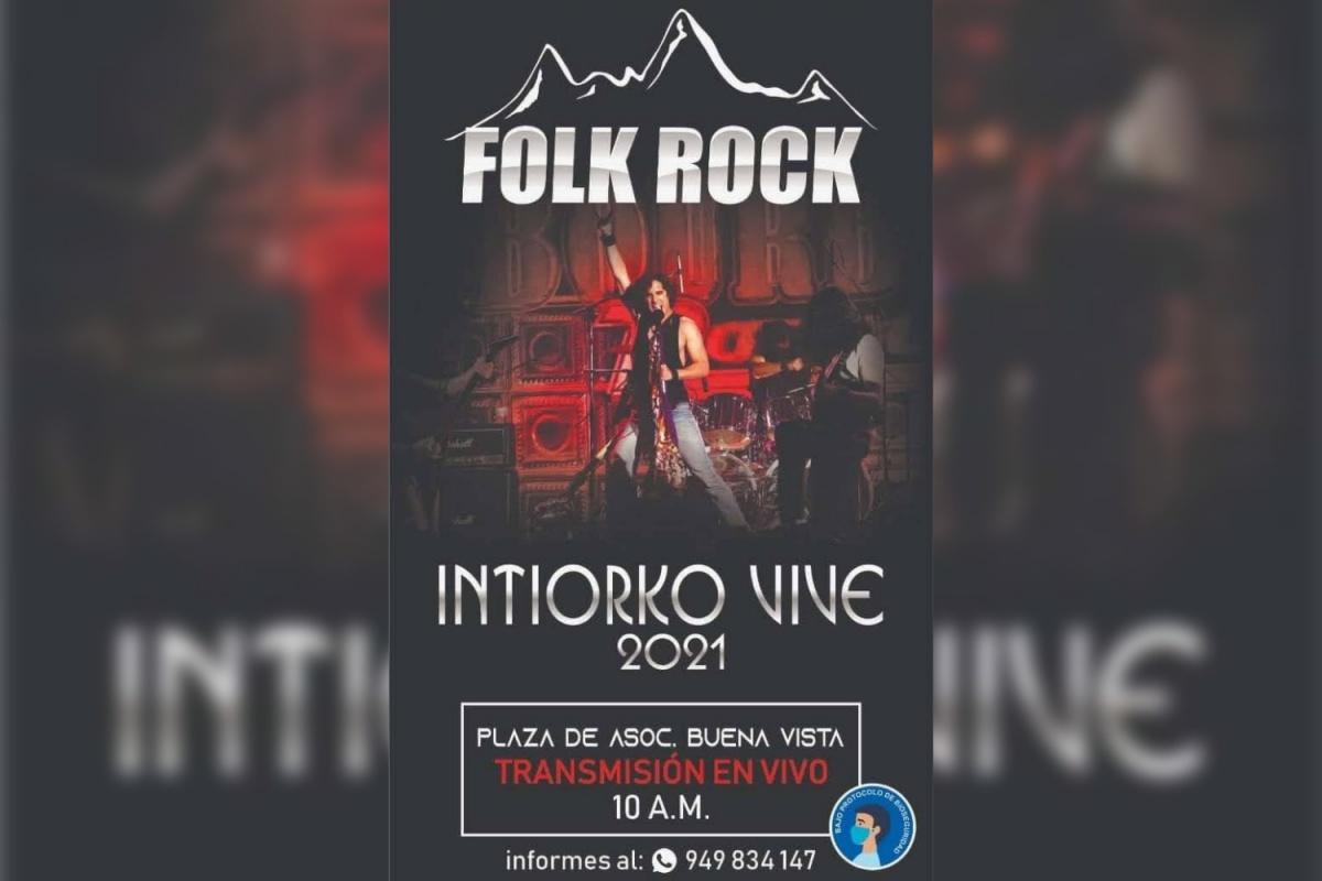 """Organizan concursode rock """"Intiorko Vive 2021"""""""