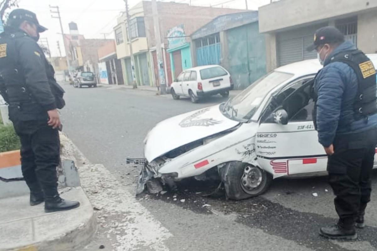 Aparatoso despiste en Ciudad Nueva