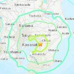 Japón: sismo de magnitud 6.1 sacude Tokio