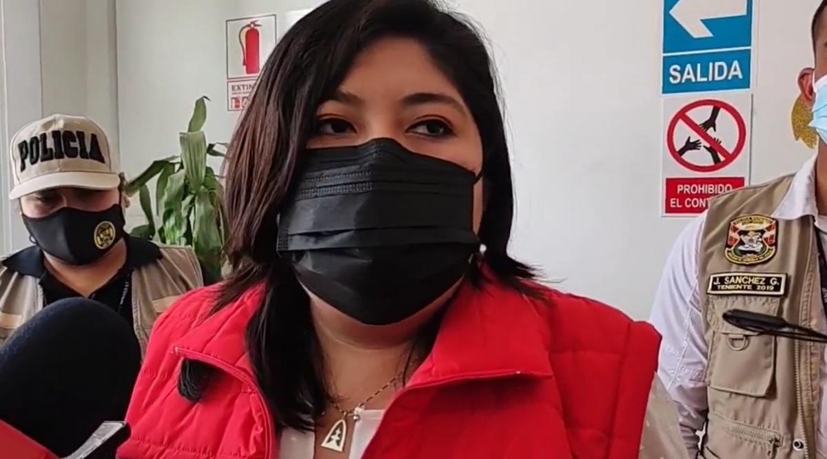 Ministra de Trabajo confía en voto de confianza de bancada Perú Libre